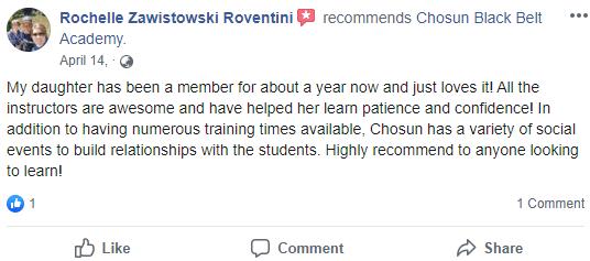 Kids4, Chosun Black Belt Academy